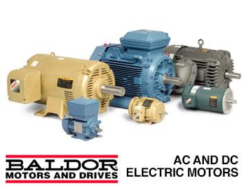 Baldor essco electric service sales essco electric for Ac dc electric motors