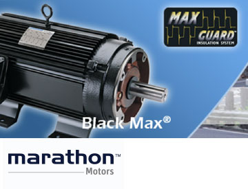 Marathon motors and generators essco electric service for Marathon black max motors